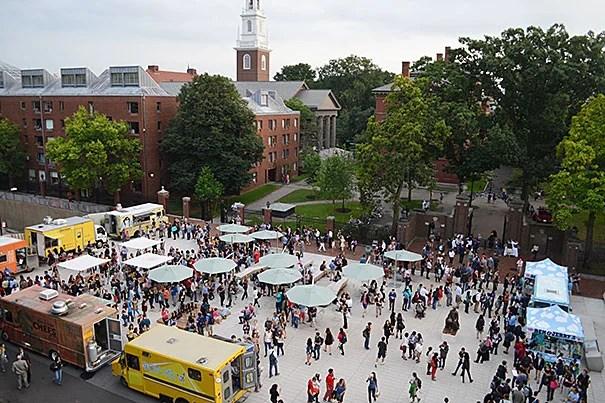 Harvard Science Center Food Trucks
