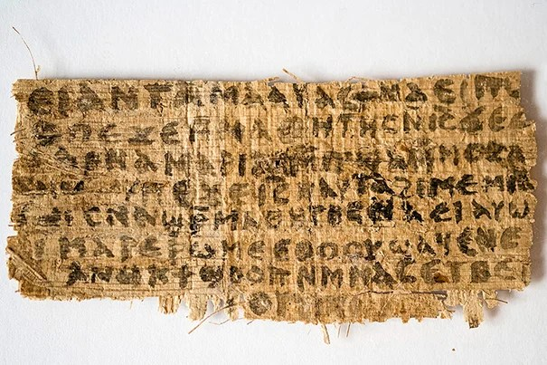 "Over the past two years, extensive testing of the papyrus fragment containing the words ""Jesus said to them, my wife,"" all indicate that the material fragment was created between the sixth and ninth centuries C.E. None of the testing has produced any evidence that the fragment is a modern fabrication or forgery."