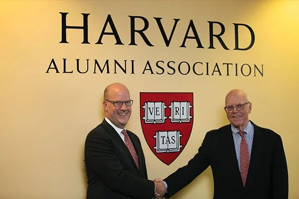 Philip W. Lovejoy (left) will succeed Jack Reardon as HAA executive director on July 1.
