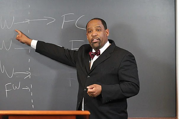 """""""The correlation between under-education and criminal involvement is such that we can't ignore it,"""" said Ronald S. Sullivan Jr., a clinical professor of law and director of the Criminal Justice Institute at Harvard Law School."""