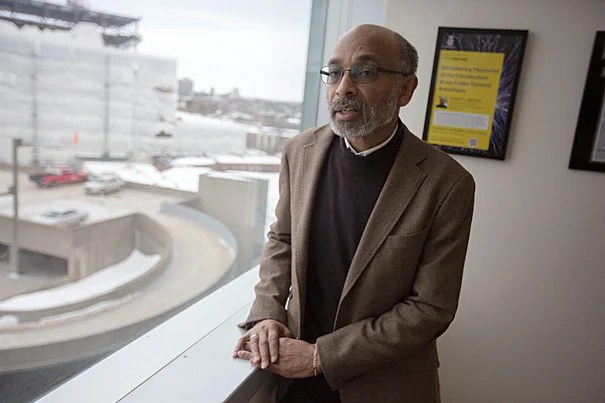 """Harvard Medical School and Massachusetts General Hospital Professor Emery N. Brown, who also holds appointments at the Massachusetts Institute of Technology, was named to the National Academy of Engineering. """"I was trained as an interdisciplinary person. That's why [my work] crosses all these interesting areas,"""" Brown said."""