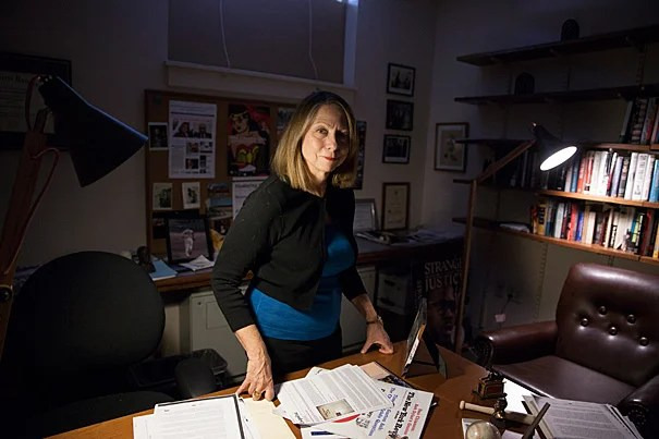 """I fell in love with journalism and the power of the press to change the world during that freshman year 1972-73,"" said Jill Abramson '76, former executive editor of The New York Times and a visiting lecturer in the Department of English."