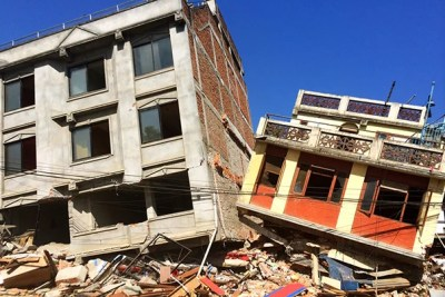 """One week after the earthquake, there is evidence of destruction across the city. Some areas have remained unharmed, while others are devastated. Many Nepalis sleep in tents, either because they lost their homes or for fear of staying in their homes during an aftershock,"" said Lara Phillips (photo 2), an instructor in emergency medicine at Harvard Medical School who was in Nepal during the devastating earthquake."