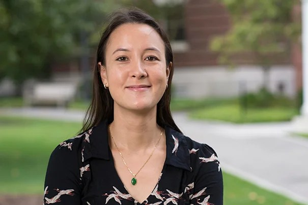 Inspired by her love of science and her exploration of the universe's mysteries, Sarah Howe wrote a poem dedicated to Stephen Hawking.  Hawking then recorded the poem via his voice processor. Howe is currently the Frieda L. Miller Fellow at the Radcliffe Institute for Advanced Study.