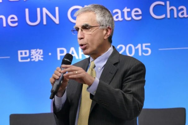 """""""After the Paris talks conclude, governments may have more appetite to reconsider the IPPC's role in light of a new global climate regime in place,"""" said Kennedy School Professor Robert Stavins on Wednesday. On Thursday, Stavins answered questions during a U.N. Climate Change Summit side panel, """"Implementing Paris Agreement: Innovation of Development Path,"""" at China Pavilion."""