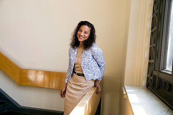 Elizabeth Hinton is a professor in Departments of History and African and African American Studies. Rose Lincoln/Harvard Staff Photographer