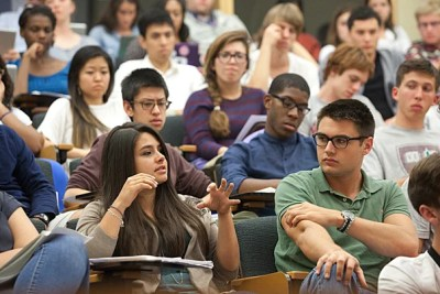 """A report on diversity at Harvard found that the University's commitment to student diversity is not a new development.  """"Diversity and excellence go hand in hand. That's something the College has known for a long time,"""" said Rakesh Khurana, the dean of Harvard College."""