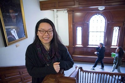 """We have an inside joke that PBHA is the best class you can take at Harvard. It's definitely true,"" says Jing Qiu '16."