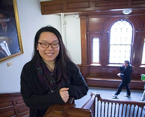 """""""We have an inside joke that PBHA is the best class you can take at Harvard. It's definitely true,"""" says Jing Qiu '16."""