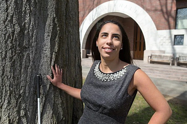 Doaa Abu Elyounes, LL.M. '16, plans to become a public service lawyer to ensure that all people have access to laws that can improve their lives.