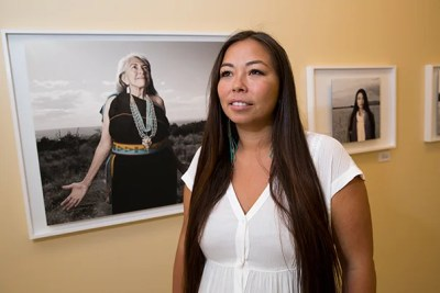"""I couldn't not talk about what's happening to our Indian women,"" said Matika Wilbur, who noted that her subjects are ""so much more"" than victims."