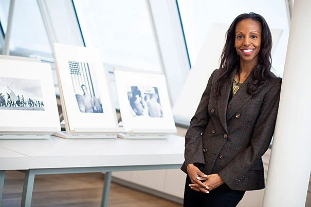 "Sarah Elizabeth Lewis, assistant professor of the history of art and architecture and African and African-American studies, guest edited the magazine Aperture, producing an issue called ""Vision & Justice,"" the first on African-Americans, race, and photography for the magazine."