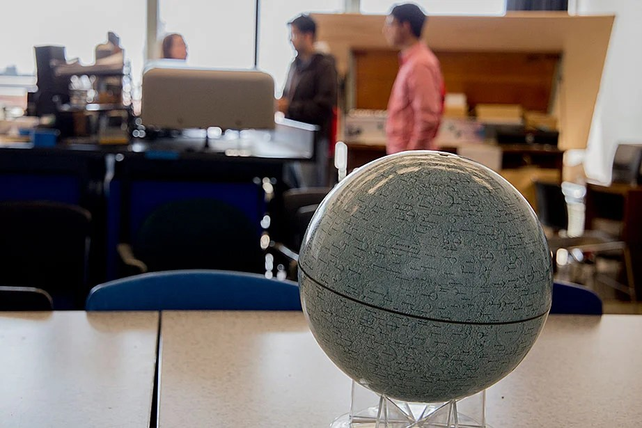 The Astronomy Lab is primarily used for undergraduate astronomy and Earth and planetary science courses.