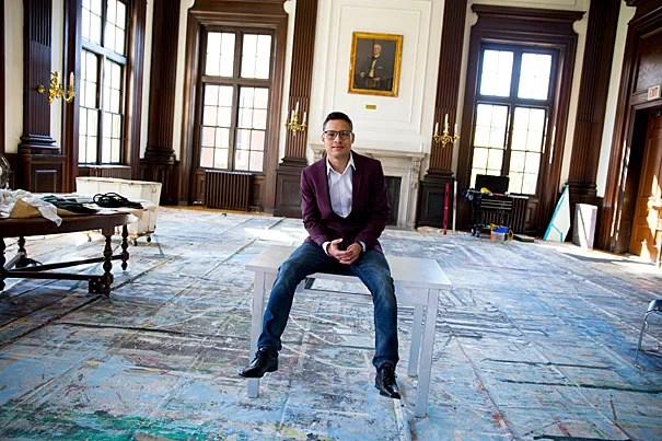 """Alfredo Garcia is an undocumented student pursuing a master's degree at Harvard Divinity School. """"Immigrants have been romanticized or dehumanized, but we have the power to act,"""" he says. """"We still have ... the agency to decide how to respond to our circumstances."""""""