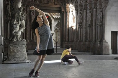 "Less of a performance than an experience, American Repertory Theater's ""The Garden"" immerses a handful of audience members in the action using headsets that instruct each individual with physical and mental choreography throughout the show."