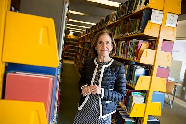 Pat Chadwick is Senior Vice President, Global Concessions and New Business Development at Bloomingdales. She's working to leverage the 55+ generation to solve problems in urban education Rose Lincoln/Harvard Staff Photographer