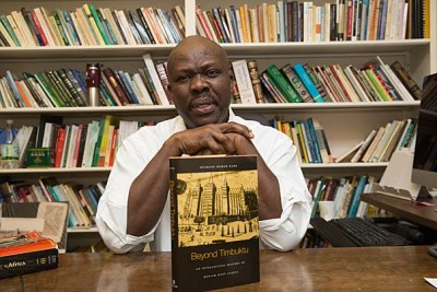 """Ousmane Kane, Prince Alwaleed Bin Talal Professor of Contemporary Islamic Religion and Society, will discuss his book on April 3. """"Beyond Timbuktu: An Intellectual History of Muslim West Africa"""" examines the cultural and philosophical influence that West African Muslims had on the religion as a whole."""