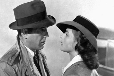"""Brattle Theatre Creative Director Ned Hinkle acknowledges the brilliance of """"Casablanca"""" and of the Bogart-Bergman pairing. """"They are not going to lose their luster,"""" he said, """"even after 75 years."""""""