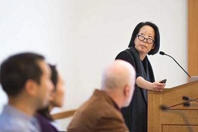 """Writer Gish Jen's latest book, """"The Girl at the Baggage Claim: Explaining the East-West Culture Gap,"""" explores the nearly diametrically opposed ideas about the self and society found in Western and Eastern cultures."""