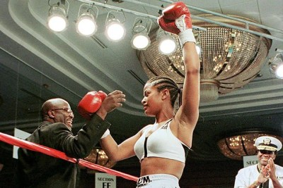 """I've seen, over the years, women in ... every single sport we play, down to football,"" says boxing champion and former president of the Women's Sports Foundation Laila Ali. ""I think we are moving in the right direction. Still, a whole lot needs to be done."""