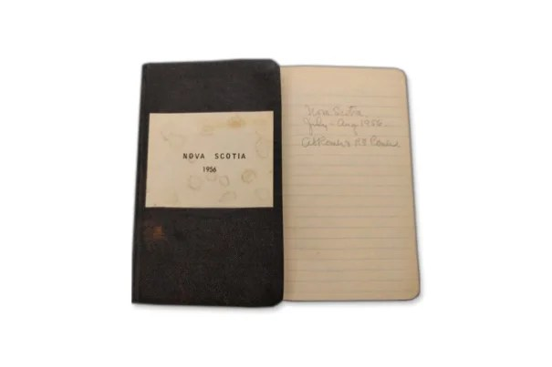 Alfred Romer's 1956 field notes