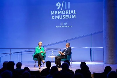 """President Faust drew from her 2008 book, """"This Republic of Suffering,"""" in a conversation at the National Sept. 11 Memorial and Museum."""