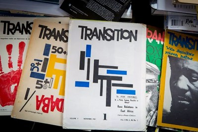 For the first time since the early 1970s, Transition magazine has been published in Africa.
