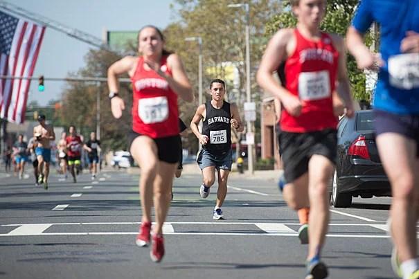 Runners in the Honan 5K