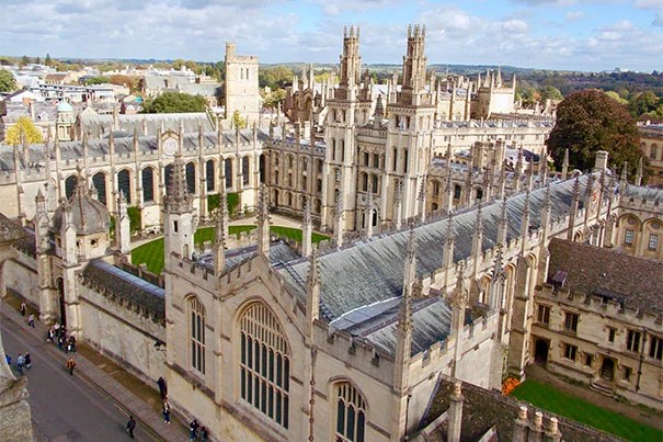All Souls College provides one of the University of Oxford's more iconic views. Photo by Anthony Chiorazzi