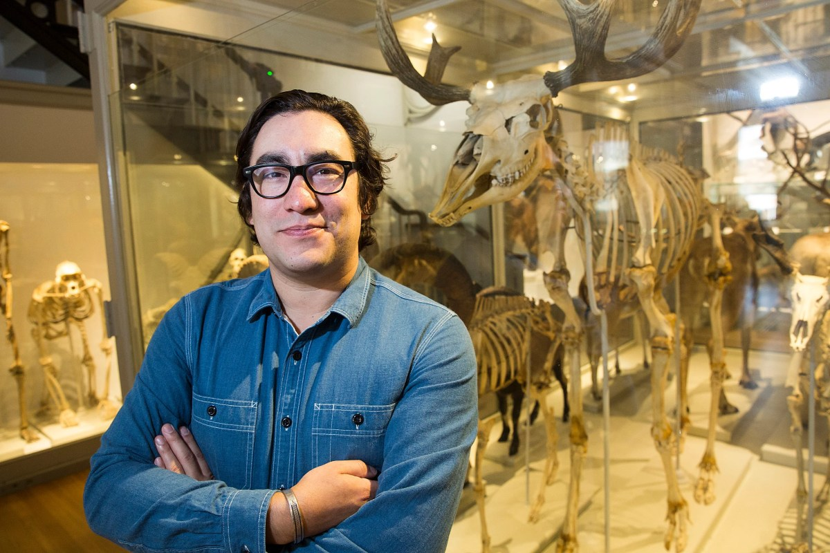 Tristan Ahtone Pictured In The Harvard Museum Of Natural History Is The Fourth Native