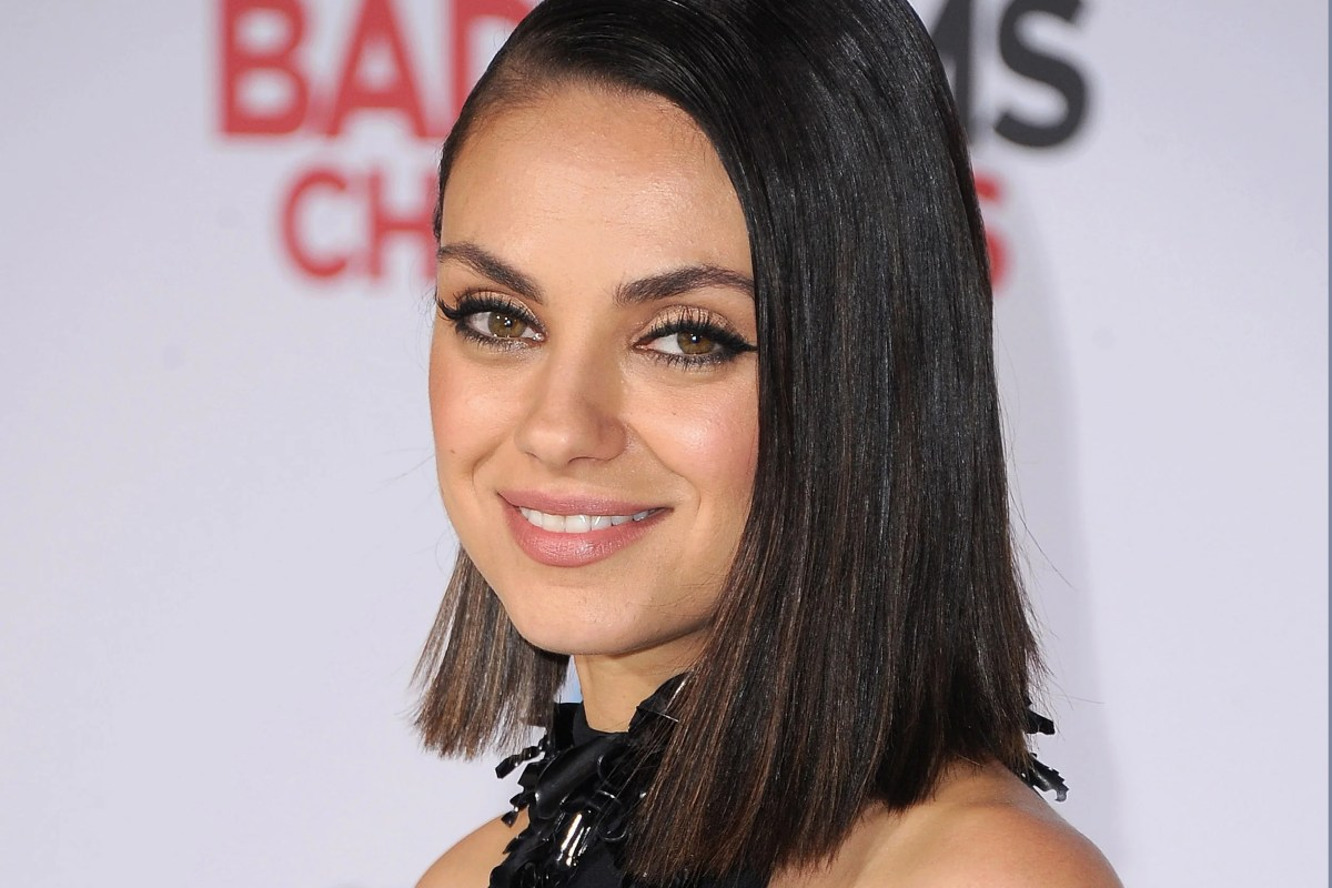 Mila Kunis named Hasty Pudding's Woman of the Year ... Mila Kunis