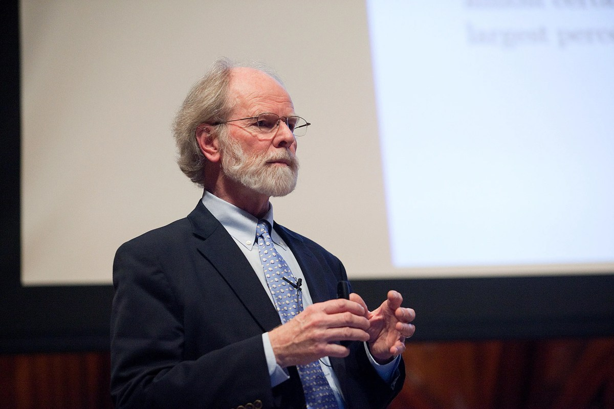 harvard s james mccarthy honored for climate change insights