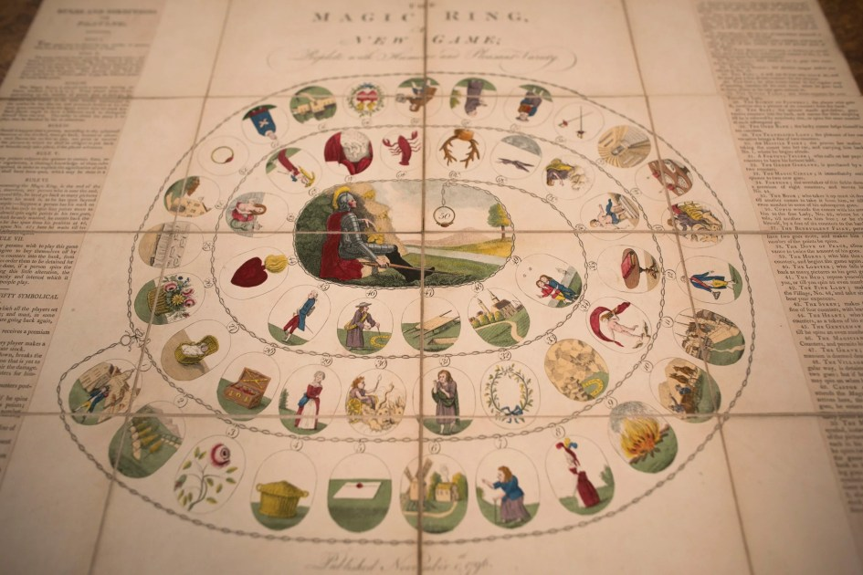 Wanna play? Houghton's game, with a collection spanning centuries