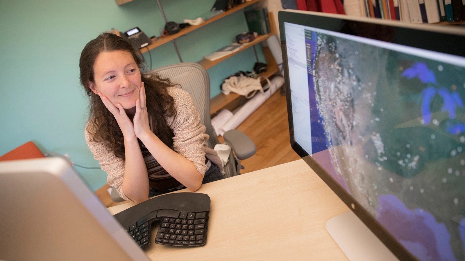 "Assistant Professor Marine Denolle is the co-author of a new study that uses computer-learning algorithms to detect tiny earthquakes hidden in seismic ""noise,"" like human activity, that could be used for real-time detection and early warnings."