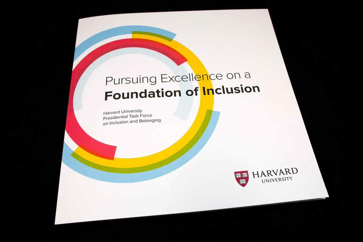 Harvard Issues Task Force Report On Inclusion Belonging Harvard