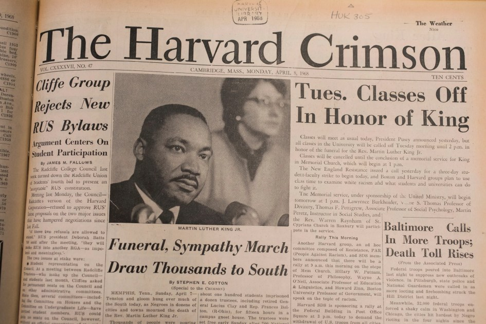 Harvard Scholars On Life Death Legacy Of Martin Luther King Jr