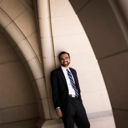 """The responsibility of privilege is to pay it forward,"" says Law School grad Raj Salhotra, who launched a program to provide mentors to help underserved high school students find path to college."