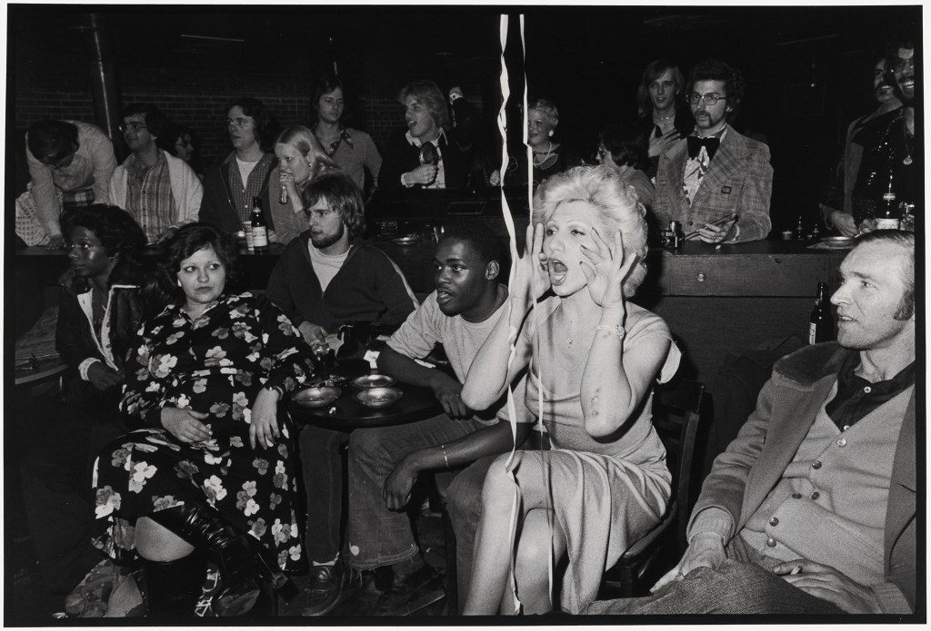 Nan Goldin, Naomi in the audience, Boston, 1973, printed 1990–91.