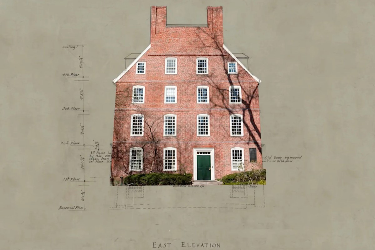 At Harvard, historic Massachusetts Hall stands the test of time