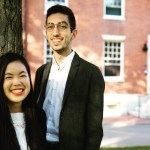 Jasmine Chia '18 and Cengiz Cemaloglu '18 know firsthand how exposure to a diverse College cohort can broaden horizons and forge deep friendships.