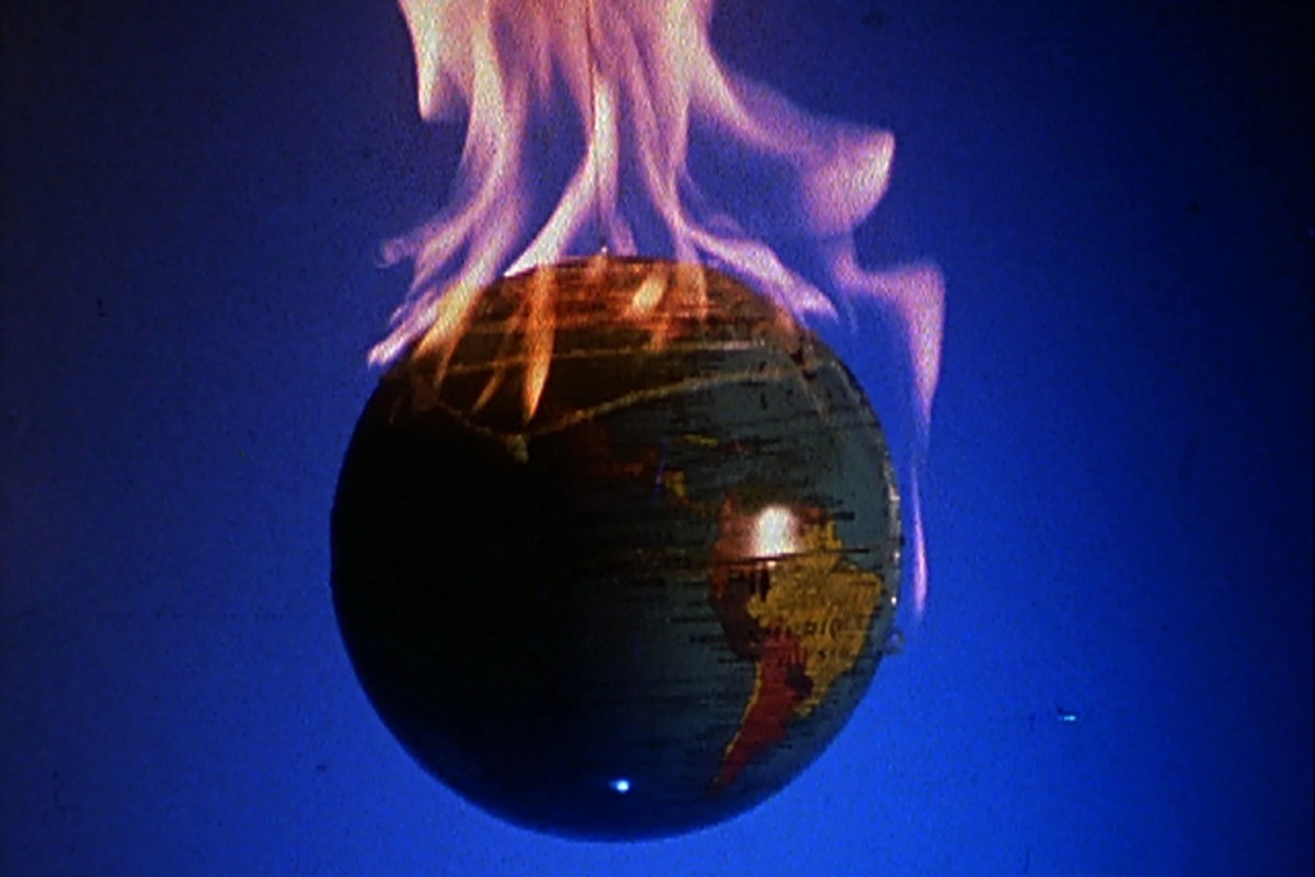 "David Wojnarowicz's unfinished film ""A Fire in My Belly,"" (1986–87; Super 8 mm film) is considered one of his better-known pieces, in part due to its disturbing, surreal images."