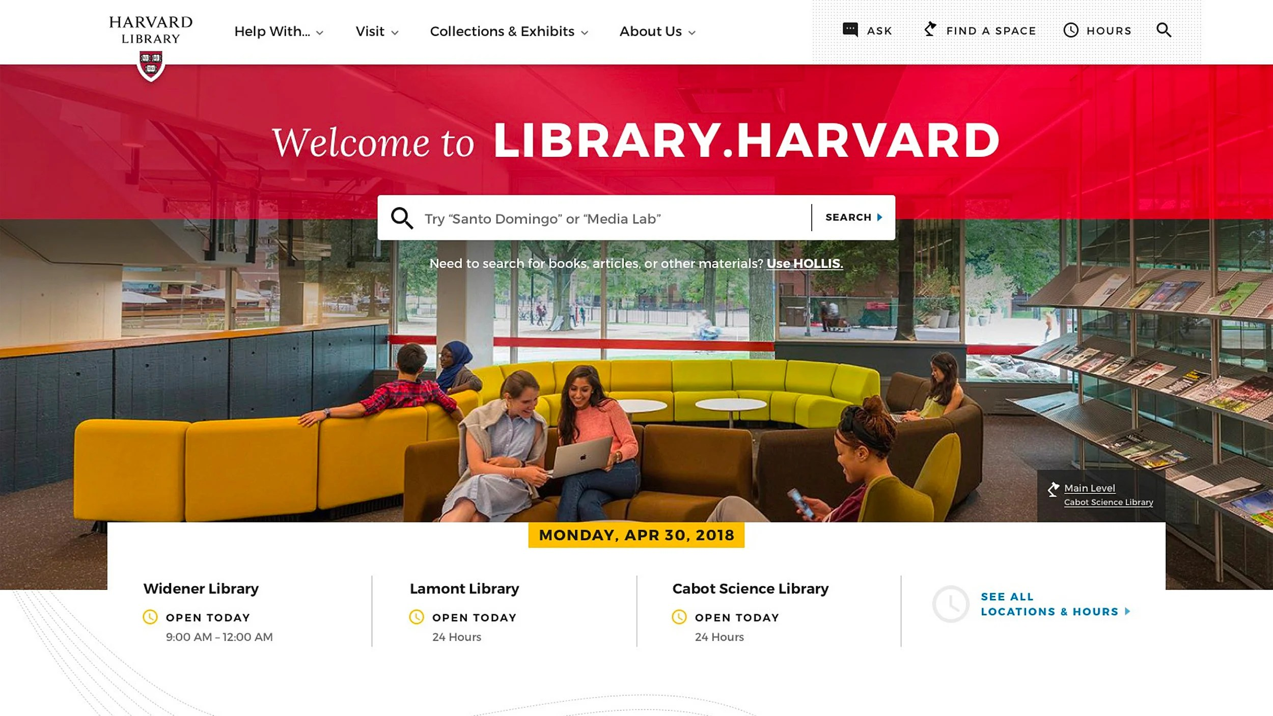 New library website provides digital front door to Harvard resources  sc 1 st  Harvard Gazette - Harvard University & Campus \u0026 Community \u2013 Harvard Gazette