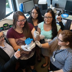6 Native American students took part in research program for undergrads