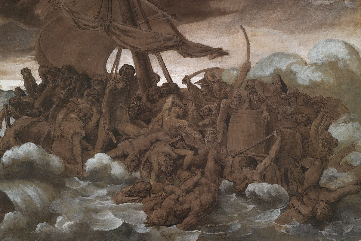 Théodore Géricault, The Mutiny on the Raft of the Medusa.