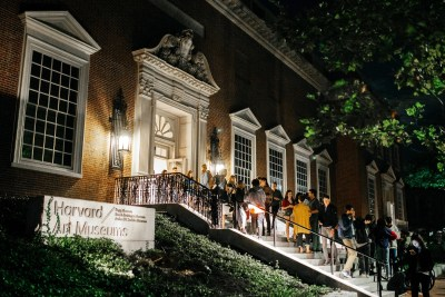 Harvard Art Museums' Student Late Night brought more than 1,200 attendees through its doors.