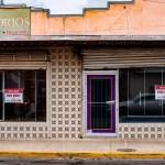 Storefront in Laredo, Texas.