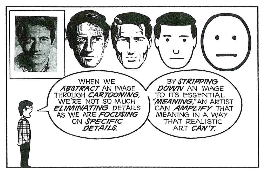 "Panels from ""Understanding Comics.""  Courtesy of Scott McCloud"