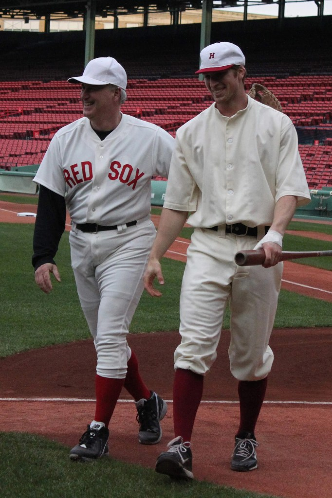 100th anniversary of first game at Fenway Park.