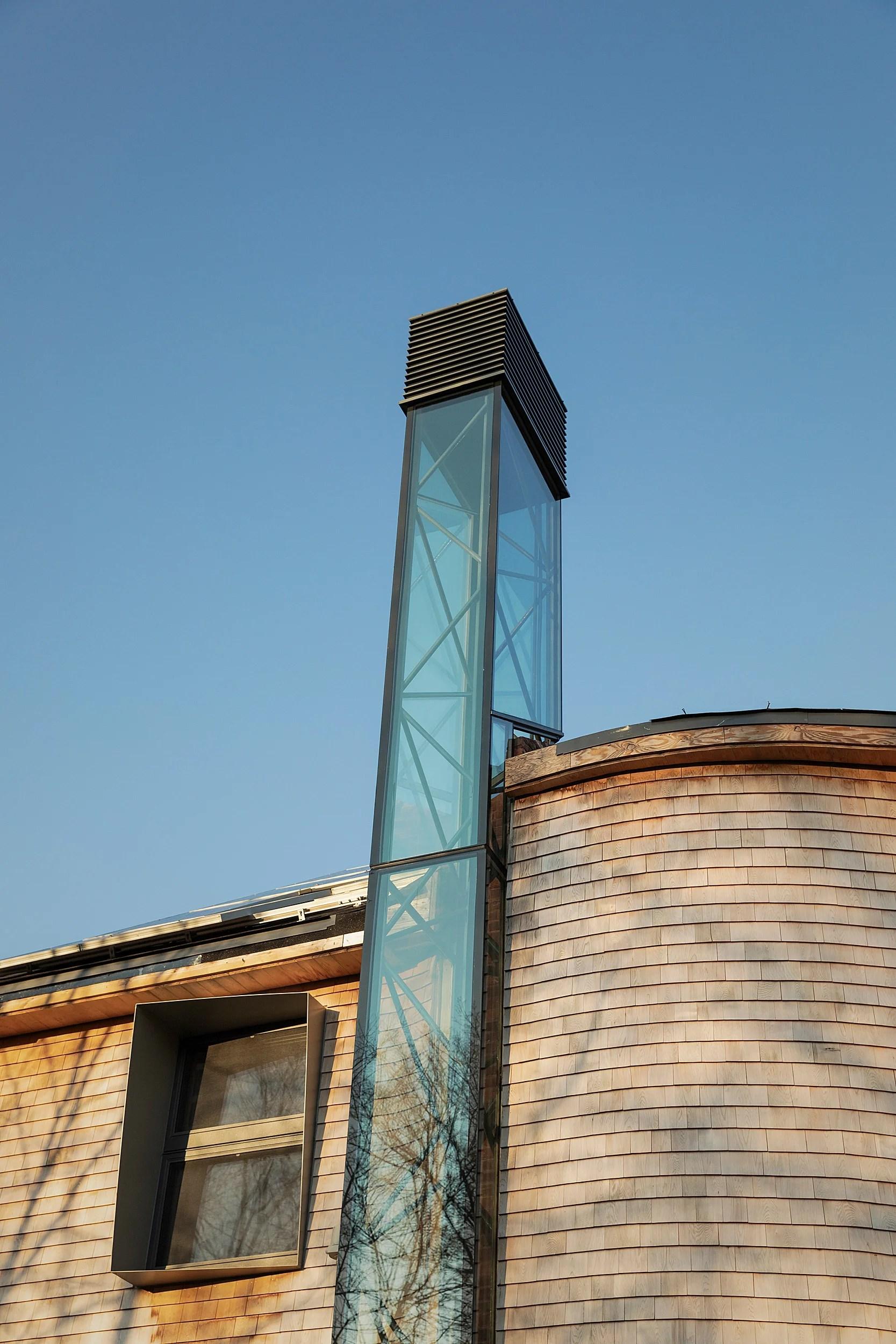 Solar chimney.