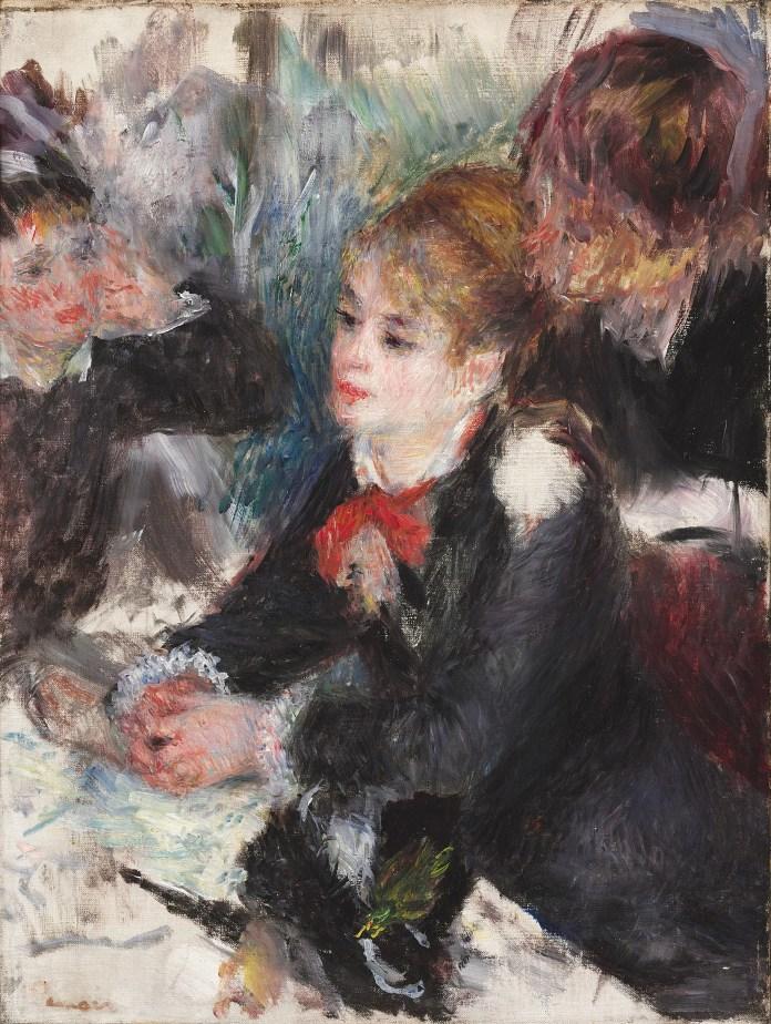 """""""At the Milliner's,"""" Pierre-Auguste Renoir."""